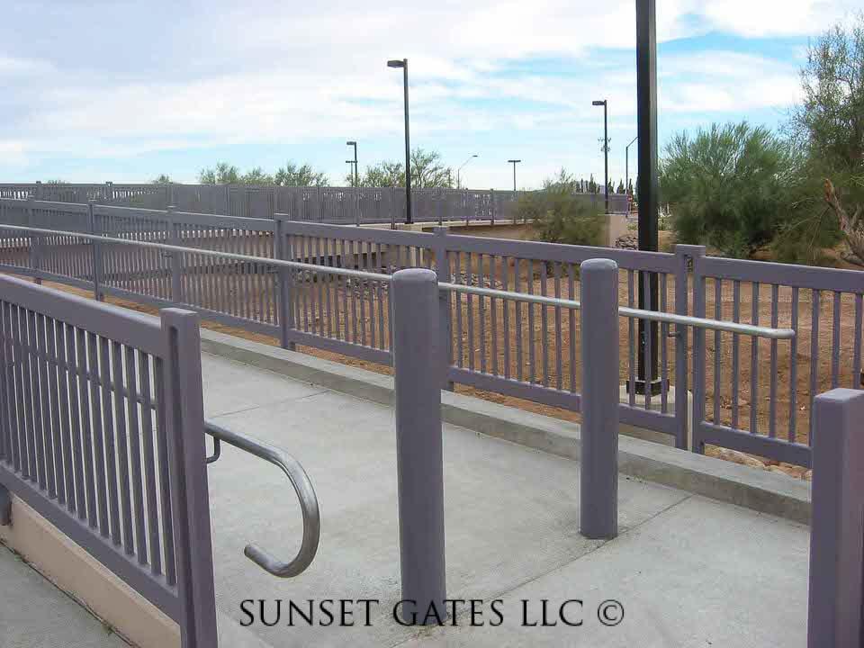 Commercial Gates   Phoenix Arizona   Sunset Gates