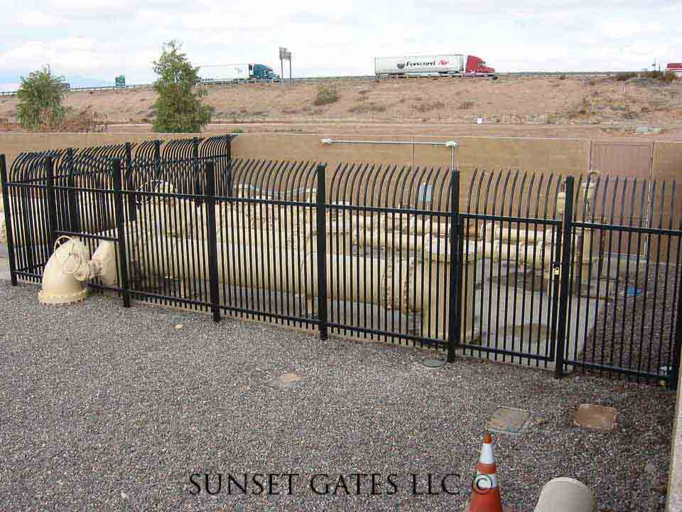 Commercial Gates | Phoenix Arizona | Sunset Gates
