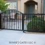 Courtyard Gates | Phoenix Arizona | Sunset Gates