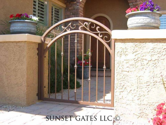 Courtyard Gates | Phoenix Arizona | Sunset Gates