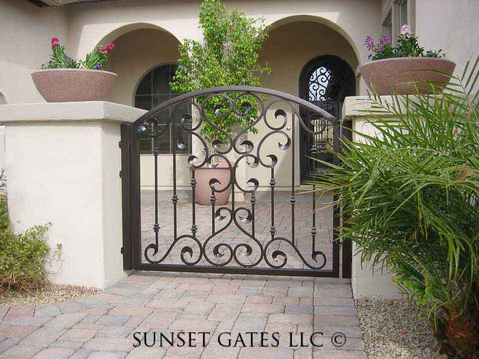 Sunset Gates Courtyard Gates Sunset Gates