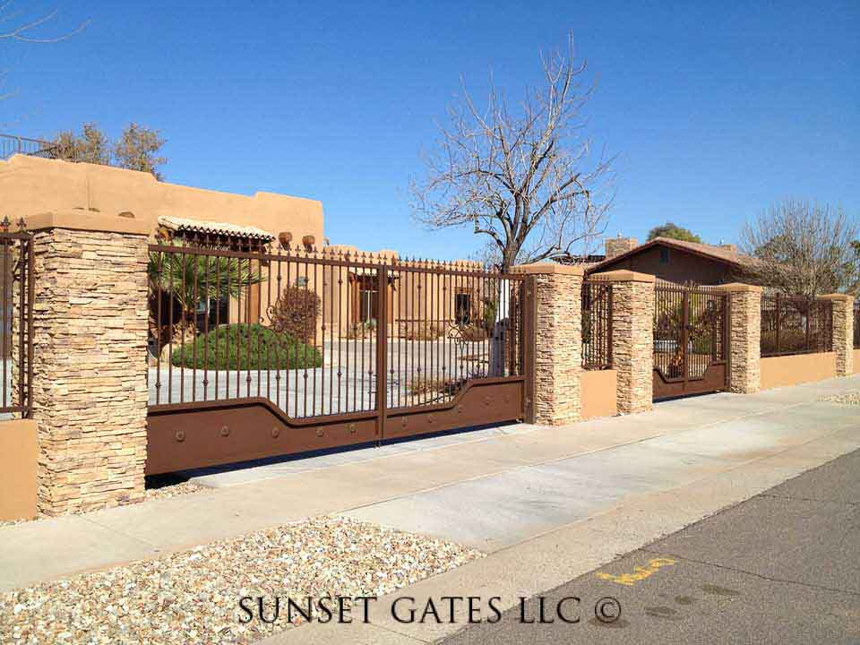 Sunset Gates Custom Sunset Gates