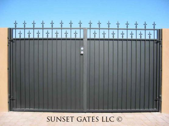 Custom Gates | Phoenix Arizona | Sunset Gates