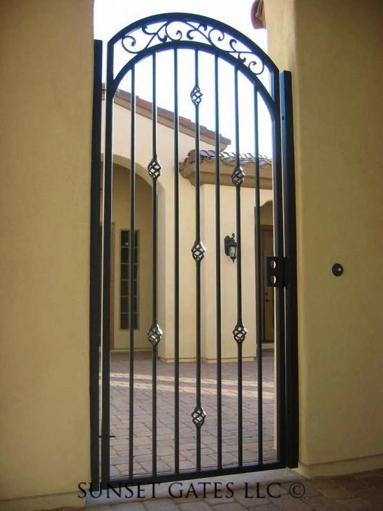 Entry Gates | Phoenix Arizona | Sunset Gates