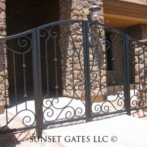 Entry Gates | Phoenix Arizona | Sunset Gates