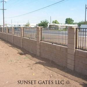 Fencing | Phoenix Arizona | Sunset Gates