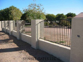 Fencing | Phoenix Arizona | Sunset Gates