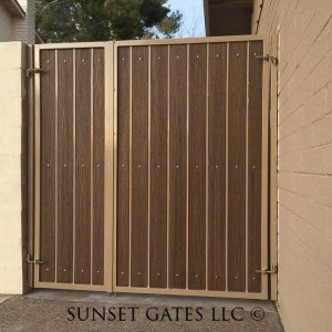 Gates | Phoenix Arizona | Sunset Gates