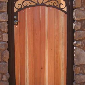 Gates   Phoenix Arizona   Sunset Gates