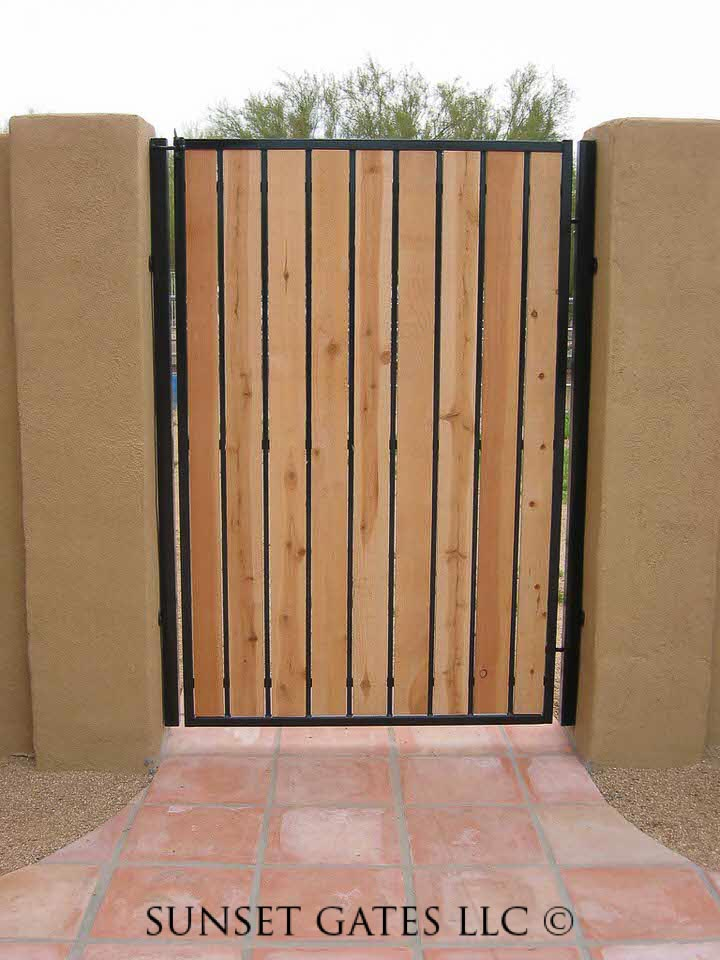 Sunset Gates Wrought Iron Gates Phoenix Arizona