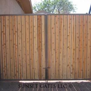 Wrought Iron Gates   Phoenix Arizona   Sunset Gates