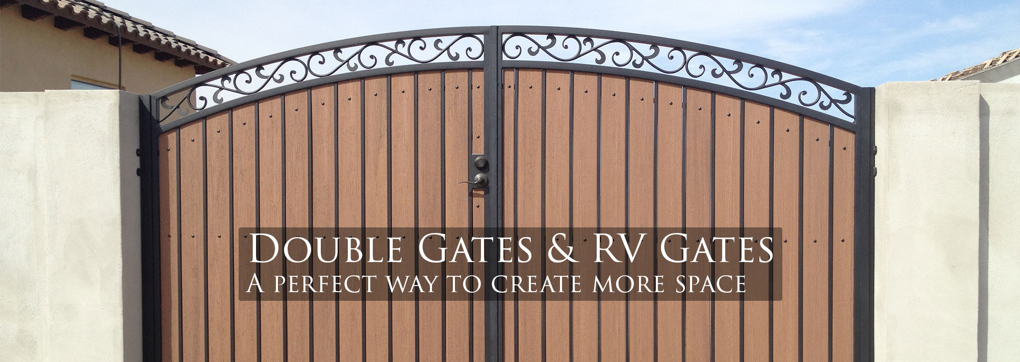 iron gate designs for homes. Sunset Gates Wrought Iron Fencing Phoenix Arizona Double Gate  Home design ideas