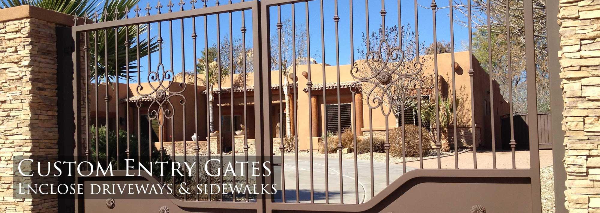 Sunset Gates Wrought Iron Gates Amp Fencing Phoenix Arizona