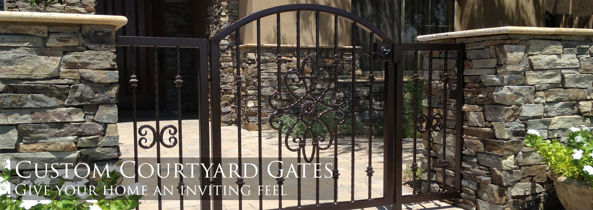 Sunset Gates Wrought Iron Gates Amp Fencing Phoenix Arizona